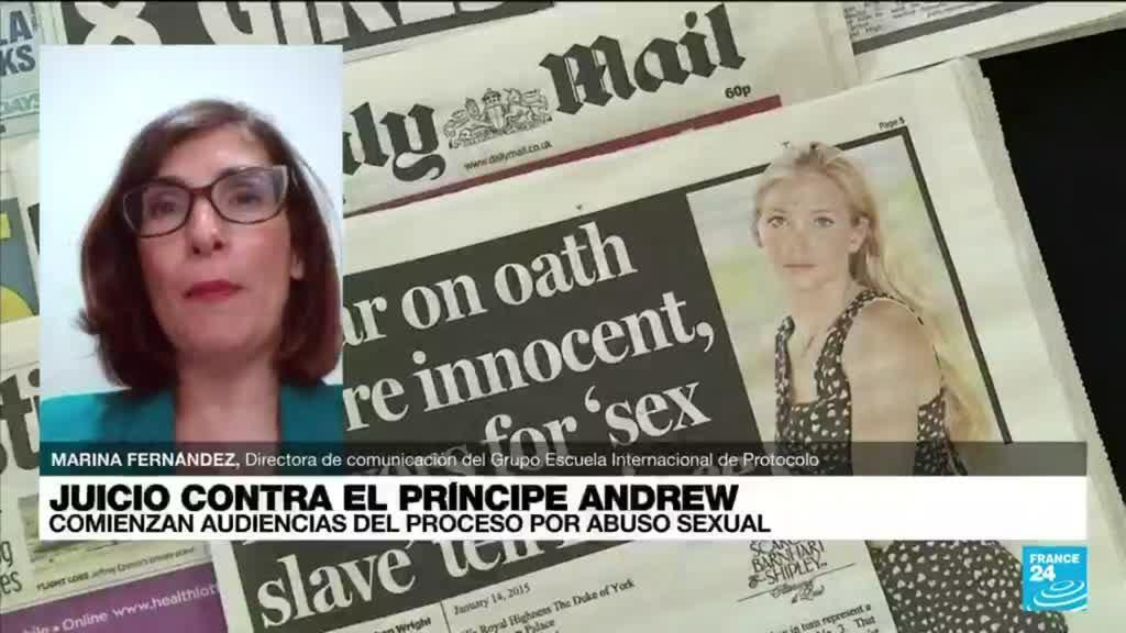 """2021-09-13 14:35 Marina Fernández: """"Si Epstein hubiera hablado, la monarquía británica se hubiera resentido"""""""