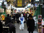 South Korea coronavirus cases jump as China tallies 150 more deaths
