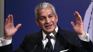 Javier Palomarez interviene en un desayuno de la Cámara de Comercio Hispana de Estados Unidos. 19/3/2013