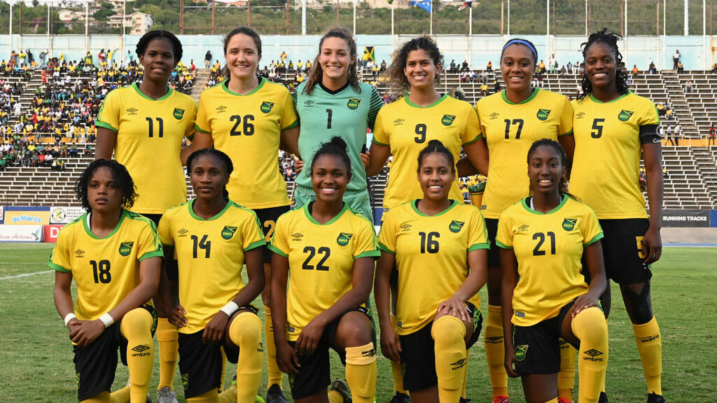 best service de974 6ceaf Jamaica faces Brazil in their historic debut in the Women's ...