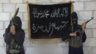 """صورة من فيديو دعائي لـ""""جبهة النصرة"""" سابقا وجبهة """"فتح الشام"""" حاليا"""
