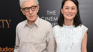 Woody Allen and Soon-Yi Previn in New York in 2016