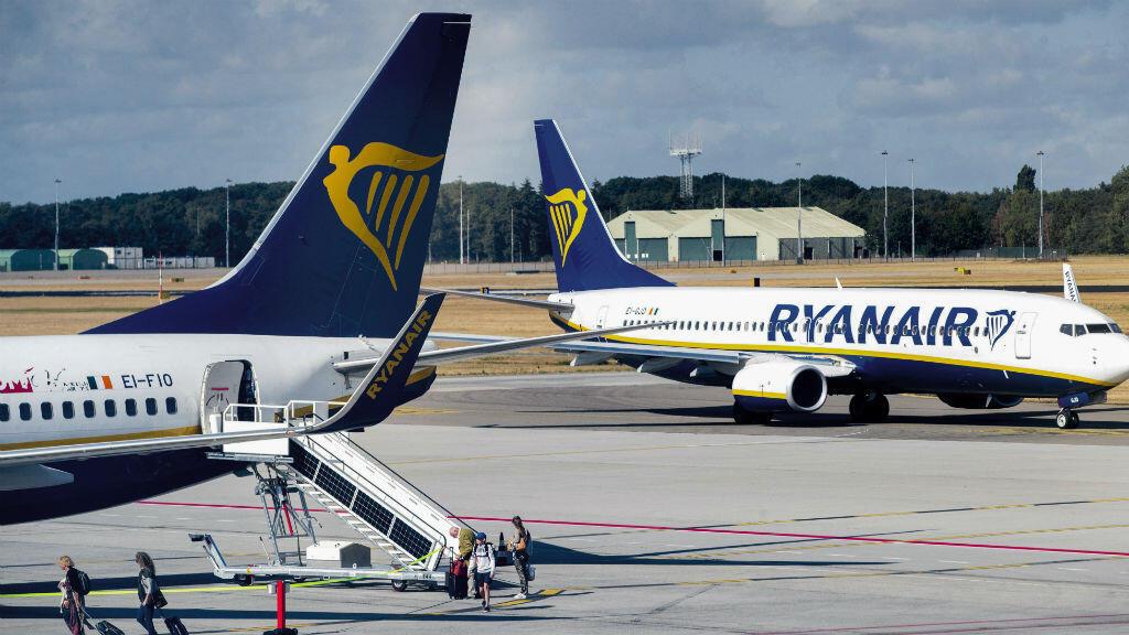 Près de 400 vols ont été annulés par Ryanair à cause de la grève.