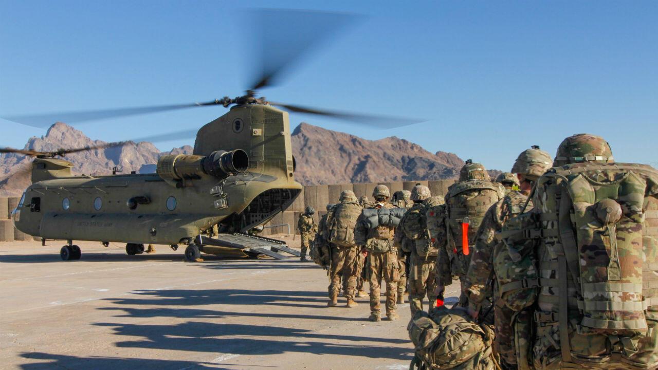 Des soldats américains en janvier 2019.
