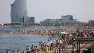 playa barcelona
