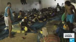 Les conditions de détention des migrants en Libye ont suscité des réactions indignées en Afrique et à l'ONU.