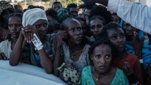 Refugiados Tigray
