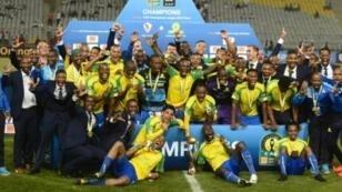 حامل لقب دوري أبطال أفريقيا صنداونز الجنوب أفريقي لدى تووجيه في 2016 بالقاهرة أمام الزمالك.