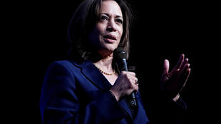 Democratic US presidential candidate Kamala Harris in Las Vegas, Nevada, US, on November 17, 2019.