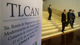 La quinta ronda de renegociación del TLCAN se llevó a cabo en Ciudad de México.