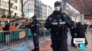 2020-03-24 11:01 Coronavirus - Covid-19 en France : le gouvernement durcit les règles du confinement