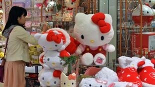 Hello Kitty is everywhere in Japan