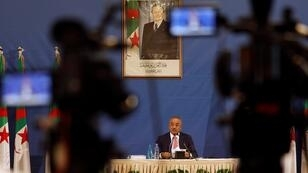نور الدين بدوي في أيار/مايو 2017 بالجزائر العاصمة.