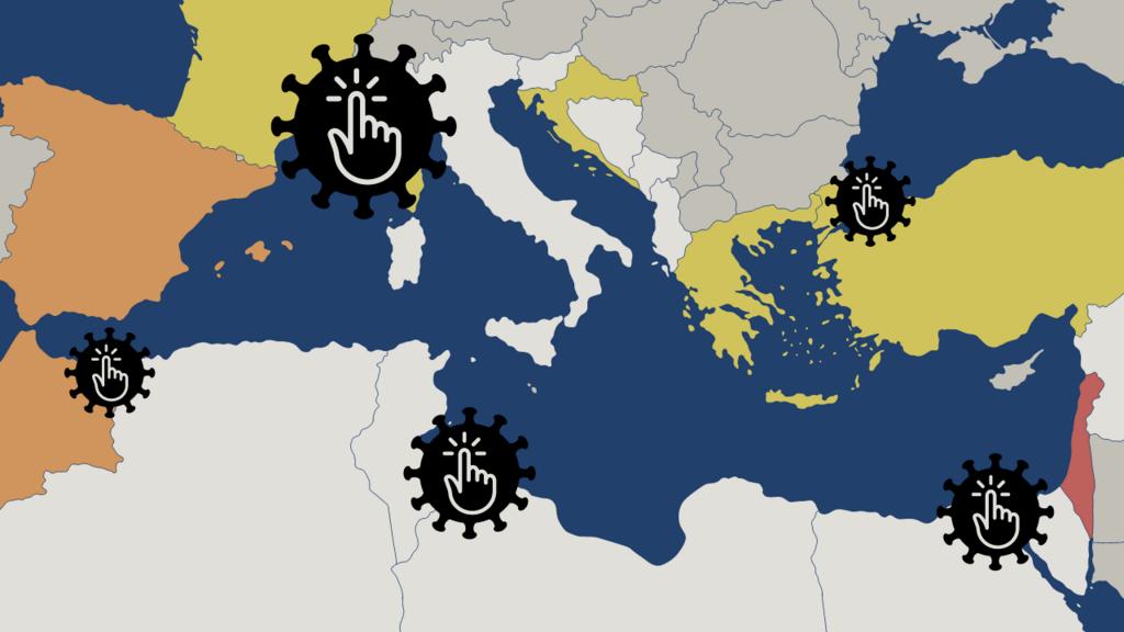 Pays méditerranéens : état des lieux de la pandémie de Covid-19