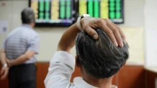 La Bourse de Shanghai a chuté de plus de 8 % lundi 24 août.