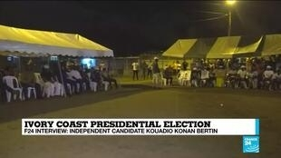 2020-10-26 12:13 Meet 'K.K.B', youngest contender in Ivory Coast's presidential elections