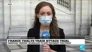 2020-11-20 14:04 Thalys train attack: At Paris trial, passengers recall disarming of train gunman