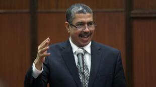 رئيس الحكومة اليمنية في المنفى خالد بحاح