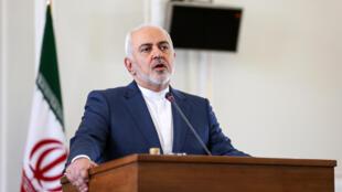 Le ministre des affaires étrangères Mohammad Javad Zarif à Téhéran, le 10 juin 2019.