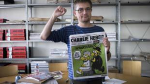 Le directeur de Charlie Hebdo : Stephane Charbonnier, alias Charb