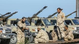 Russia blocked a UN Security Council statement that would have called on forces loyal to Libyan commander Khalifa Haftar to halt their advance on Tripoli; Anti-government troops led by Haftar said Saturday they had been targeted by an air strike about 50 kilometres (30 miles) south of Tripoli