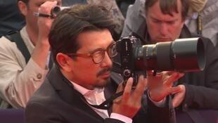 Olivier Vigerie, photographe officiel du Festival du cinéma américain de Deauville depuis 2013.