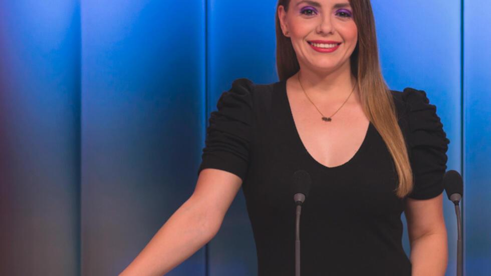 Ángela Gómez es presentadora en France 24 y conductora del programa Ellas Hoy.