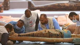 EGYPT NECROPOLIS DISCOVERY