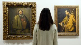 La cinquantaine de toiles exposées au Grand Palais représente près de la moitié de l'œuvre de Velázquez.