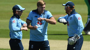 Willey (C) took four wickets early in the first ODI