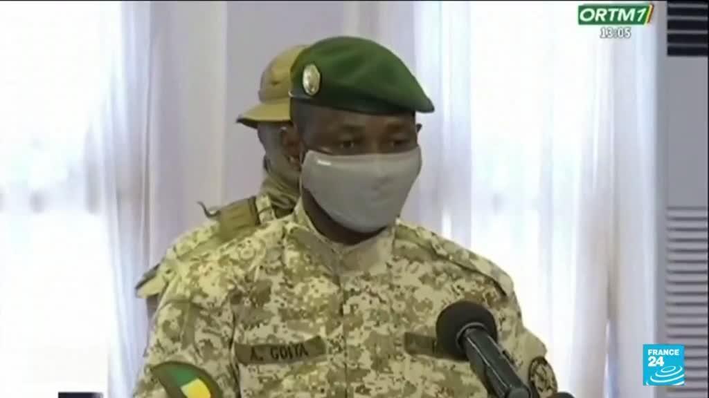 2021-06-07 10:01 Mali : investiture et grand oral ce lundi pour le colonel Assimi Goïta