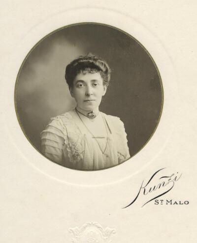 Un portrait de Marthe de Goutière non daté.