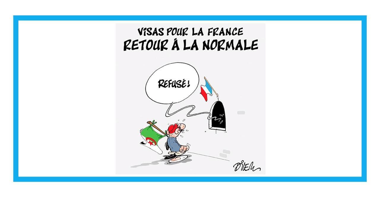 """Paris annonce une baisse """"drastique"""" des visas pour les ressortissants du Maghreb"""