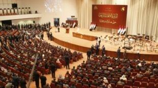 رئيس الوزراء العراقي المنتهية ولايته حيدر العبادي