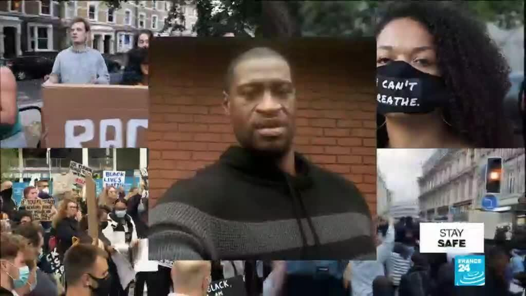 2020-06-05 15:34 Vigils and protests for George Floyd held across the World