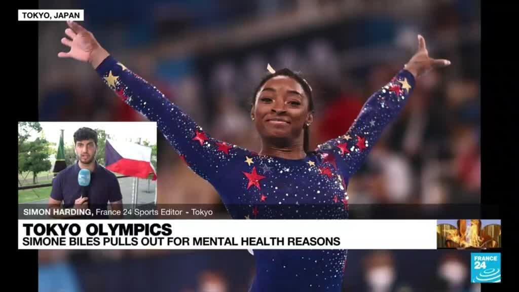 2021-07-28 11:01 US gymnast Simone Biles withdraws from Olympics all-around gymnastics