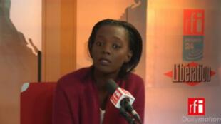 Rama Yade, vice-présidente de l'UDI, sur le plateau de l'émission de Mardi politique.