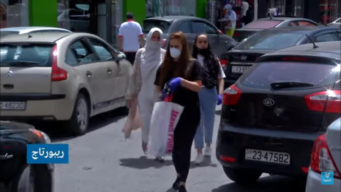 تجارة التجزئة تتأثر بفيروس كورونا في الأردن