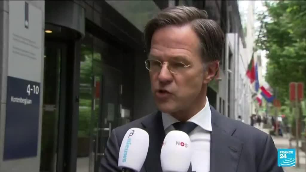 """2021-06-24 17:03 Droits LGBT : avec sa loi, """"la Hongrie n'a plus rien à faire dans l'UE"""", selon M. Rutte"""