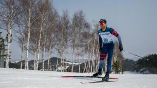 Benjamin Daviet, argenté sur le 20km style libre en ski de fond.