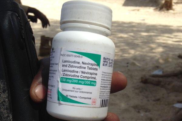 Médicament pour séropositif