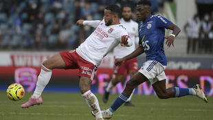 Lyon's Memphis Depay claimed his first club assists of the season in the win at Strasbourg