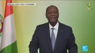 2020-12-14 11:09 Ivory Coast election: Ouattara to be sworn in for disputed third term