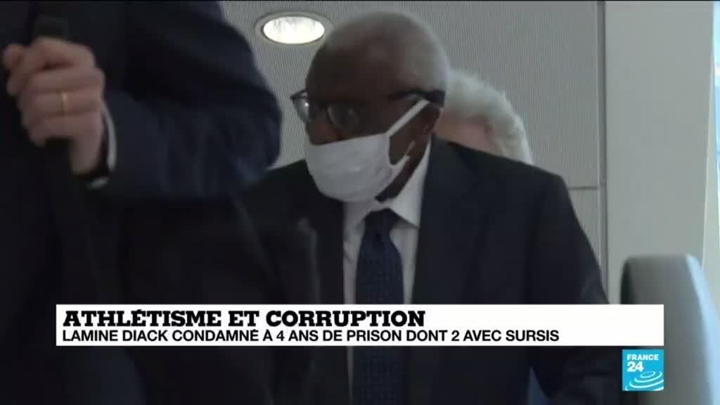 Dopage russe et corruption : Lamine Diack condamné à 4 ans de prison dont 2 avec sursis