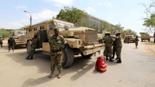 Des soldats de la force de l'Union africaine en Somalie (Amisom).