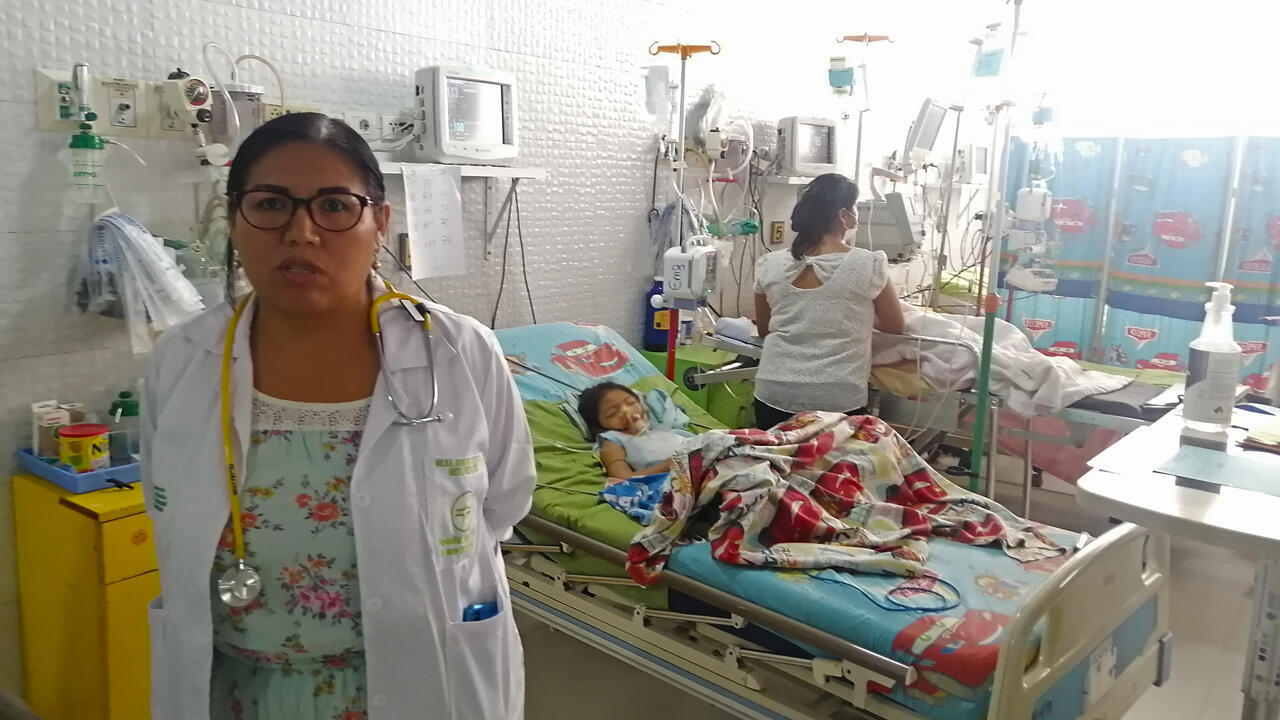 Milka-Cáceres-bol-dengue