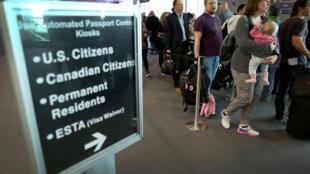 La Chambre des représentant a voté pour renforcer le contrôle des visas à l'entrée des États-Unis pour certains voyageurs.