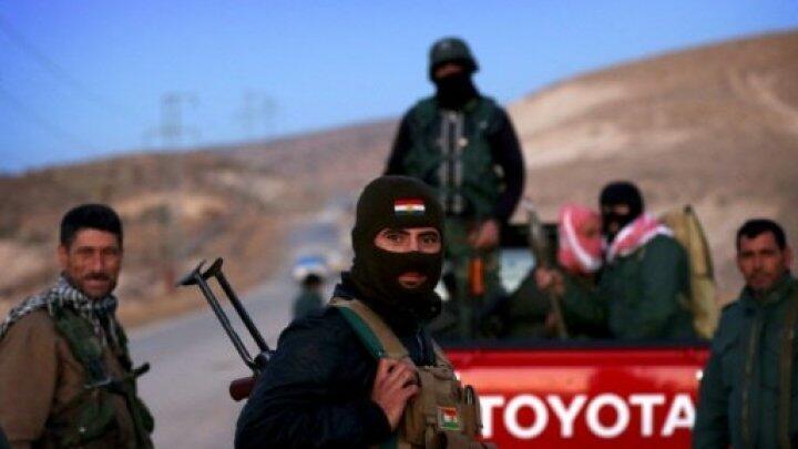 مقاتلو البشمركة في العراق