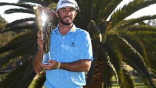 El estadounidense Max Homa conquistó el PGA Genesis Invitational en el Riviera Country Club de California, el domingo 21 de febrero de 2021.