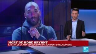 2020-01-26 22:03 Mort de Kobe Bryant à 41 ans dans un accident d'hélicoptère